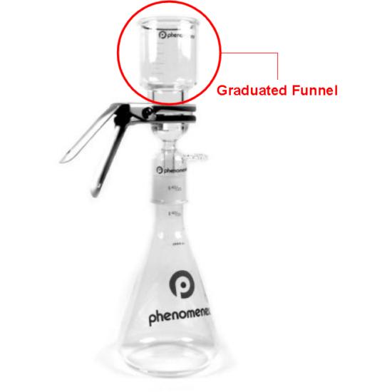 FilterSys eluensszűrő tölcsér